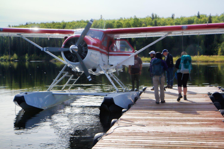 Talkeetna Flightseeing floatplane
