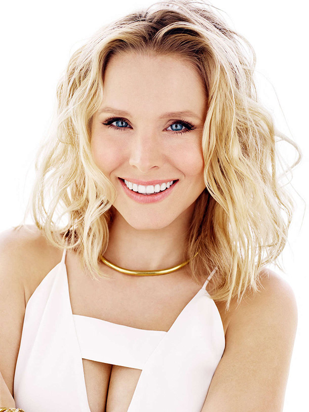 Kristen-Bell-White-Dress-Cute-Smile