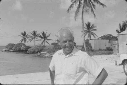 Percy Day G&E Administrator from Christmas Island