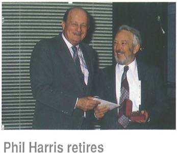 George at Phil Harris' Retirement