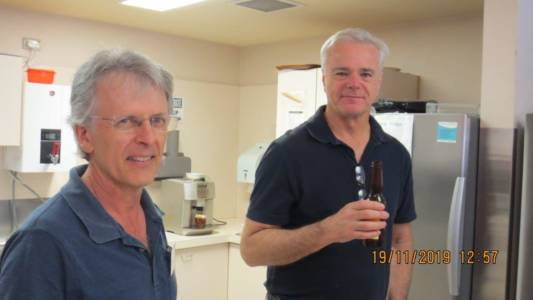 Perth AGM and Luncheon Nov 2019 Mark & Andrew