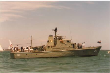 SOYC-034 HMAS Aware
