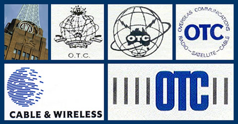 A collage of logos from some of the companies where our members were employed.