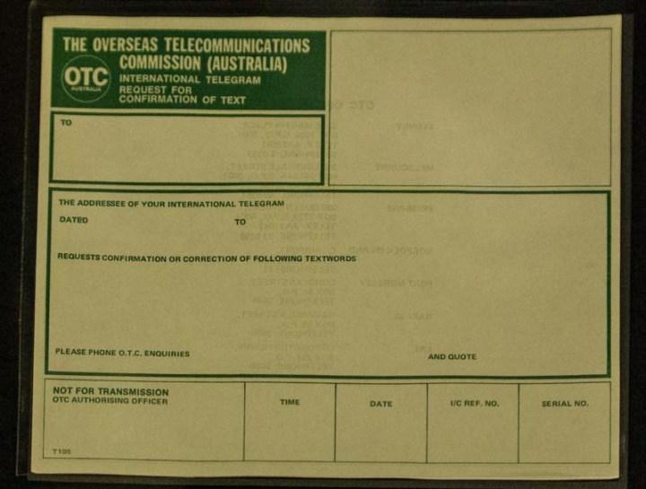 OTC Telegram
