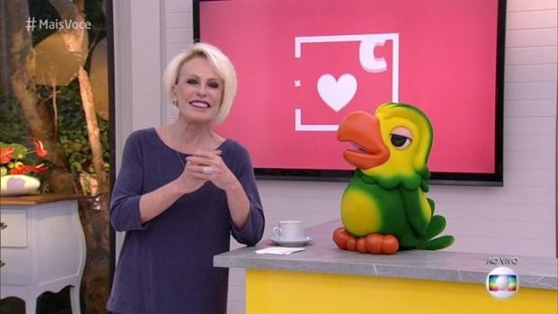 A apresentadora Ana Maria Braga no comando do Mais Você (Foto: Reprodução/Globo)