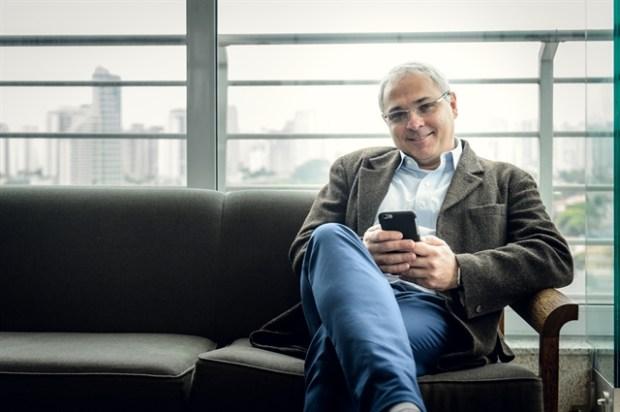 Raymundo Barros, diretor de Tecnologia da Globo, no lançamento do Globo Play (Foto: Globo/Ramón Vasconcelos)