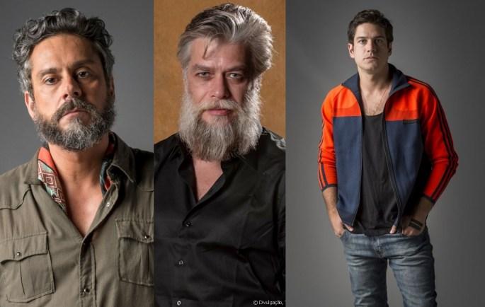 Pedro, Ramiro e Nonato em Onde Nascem os Fortes (Foto: Reprodução)
