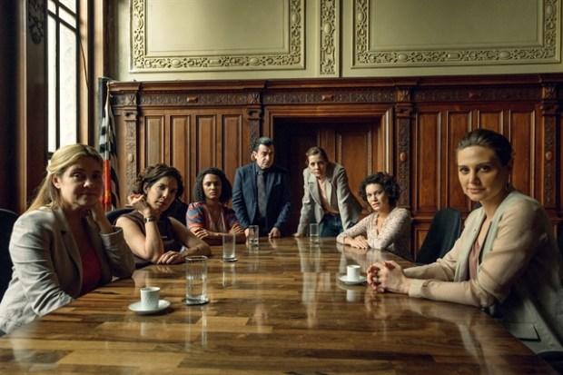Vítimas reunidas na série Assédio (Foto: Globo/Ramón Vasconcelos)