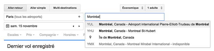 google-flight-saisir-destination