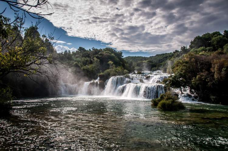 Où aller en Croatie : le parc de Krka