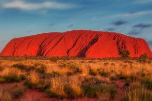 Vue sur le mont Uluru