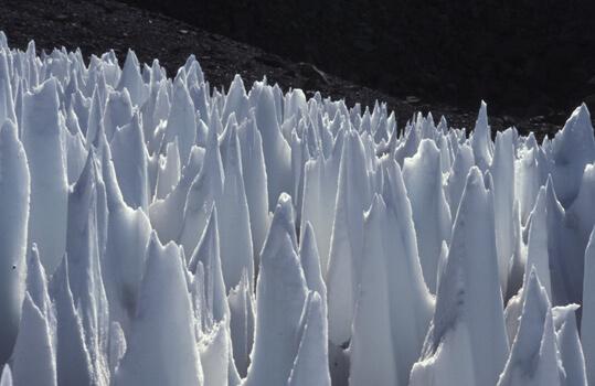 De drôles de formations glacées