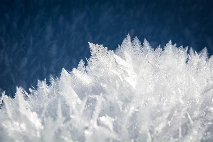 Cristaux de glace