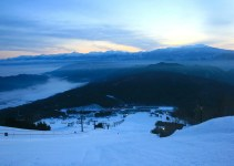Ciel, montagnes et nuage au Japon