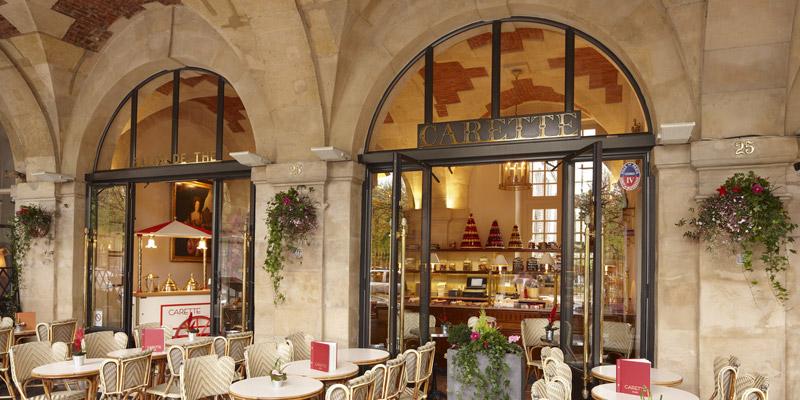 Brunch Carette Place des Vosges 75003 Paris  OuBruncher