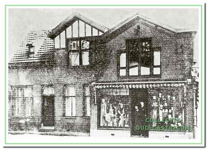 Het postkantoor stond aan de Dorpsstraat 87 in Castricum, nu is het Café My Way.