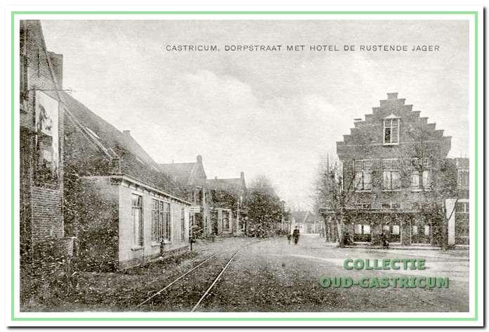 Het hotel, café, restaurant en bondshotel zeer kort na de nieuwbouw.