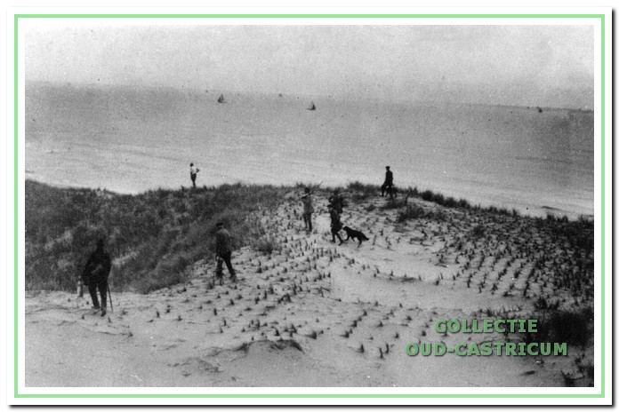 Een jachttafereel, ca. 1916.
