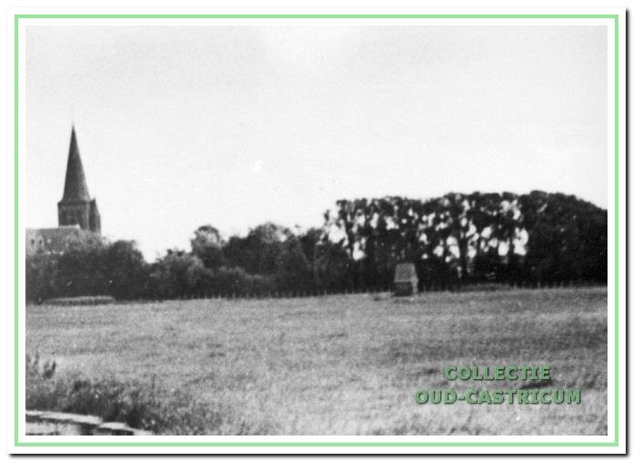 Het pompgebouwtje aan de Cieweg nabij het kerkhof.