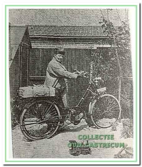Mejuffrouw Vahl, vroedvrouw met motorfiets.