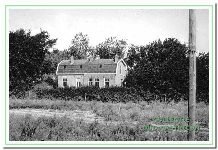 De ziekenbarak die aan het einde van de Kramersweg stond, bij de aftakking van de Oude Schulpweg, werd in 1914 gebouwd.