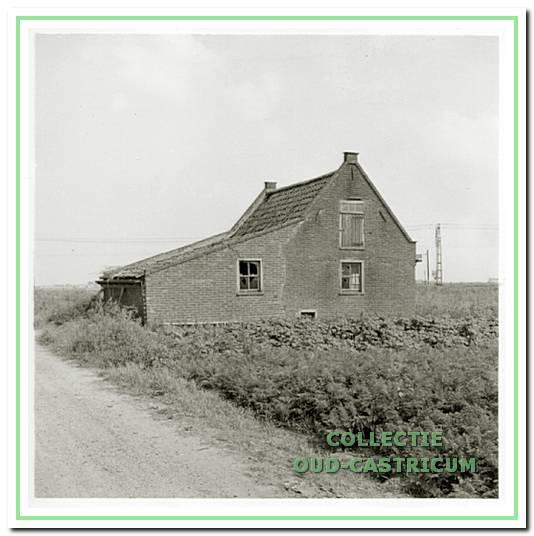 Huisje aan de Bleumerweg in Castricum is niet aangesloten op (onder meer) waterleiding.