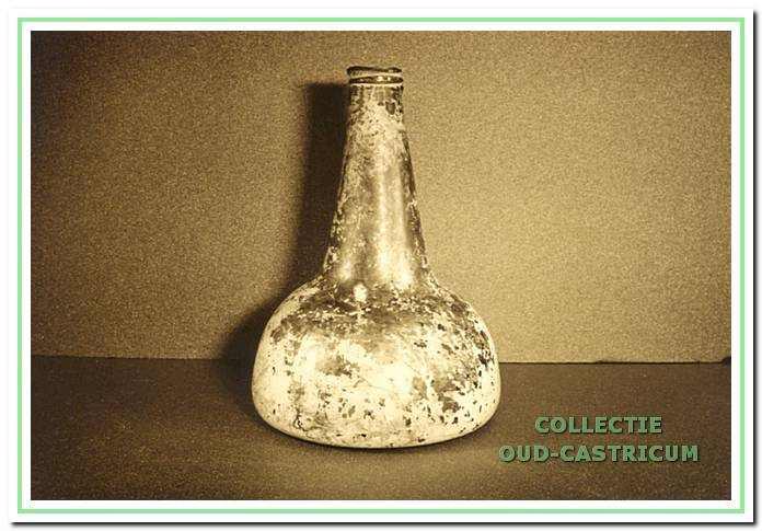 Fles gevonden door Niek Steeman.
