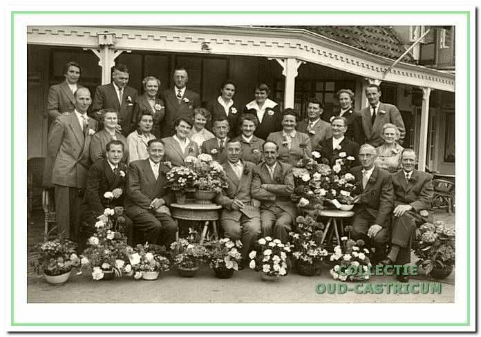 25 jaar de Eendracht (melkboerenvereniging, mei 1957.