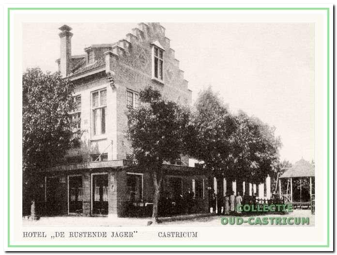 De laatste bezitter van de 'oude' De Rustende Jager, was Jan Koopman, die het bedrijf in 1886 aankocht.