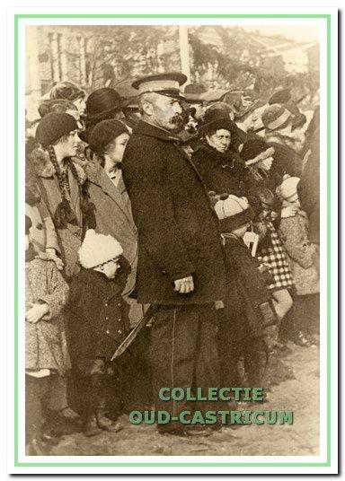 Ariën Gorter was als veldwachter een bekende Castricumse figuur.