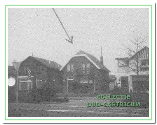 De villa Dorpsstraat 146, ca. 1985, toen eigenaar en bewoner De Graaf.