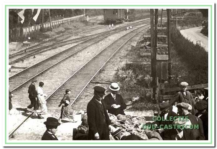 Spoorwegovergang Mient- Kramersweg.