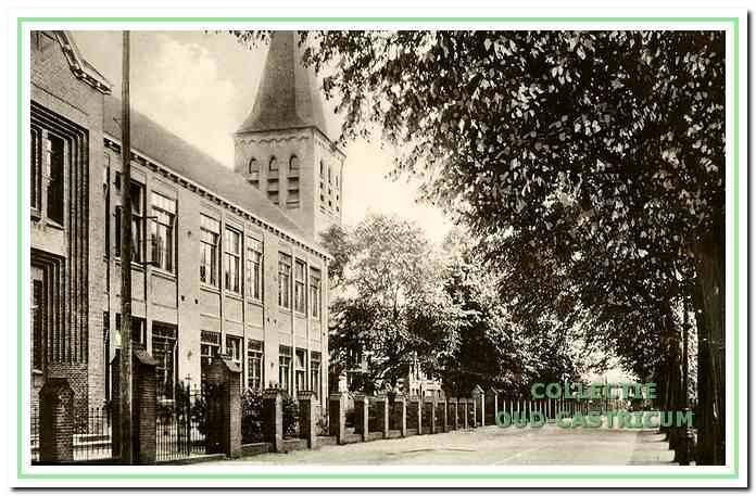 De stoomtram reed tot 1923.
