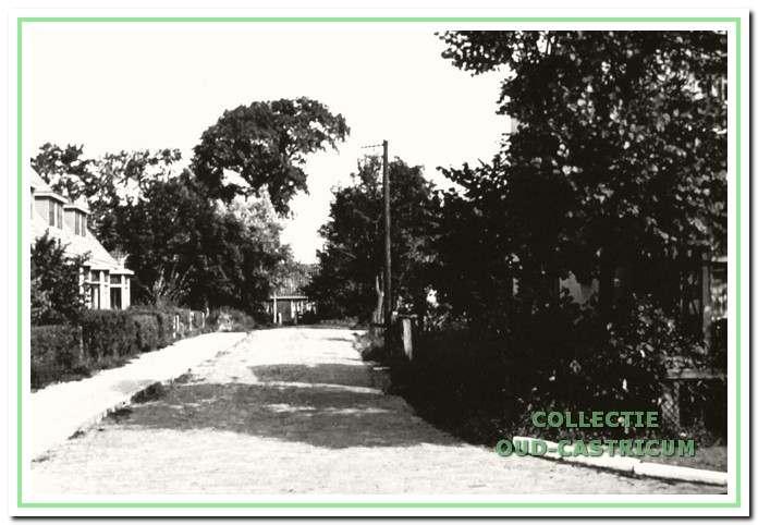 De ingang van het Schulpstet vanaf de Stetweg.