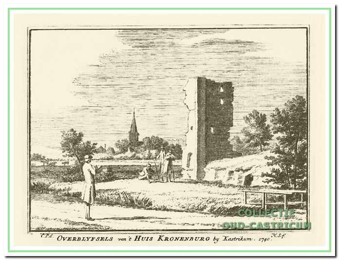 Overblijfsels van 't Huis Kronenburg