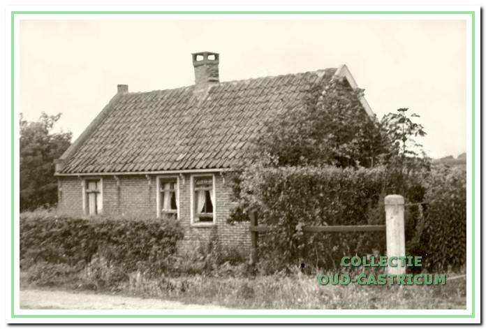 Het huisje van Joop Sprenkeling (nr 16).