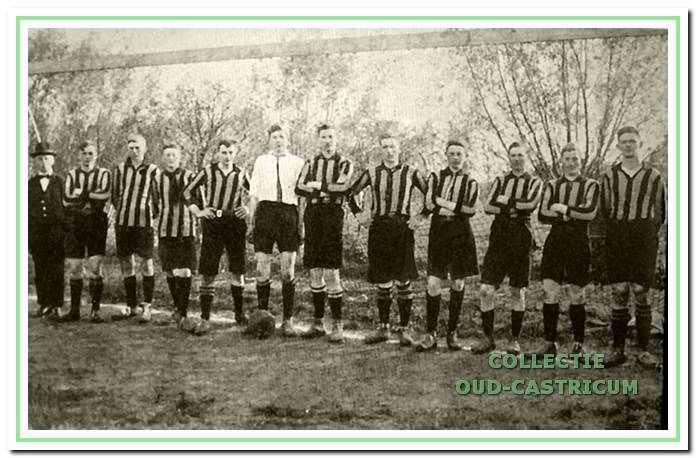 De oprichtingsfoto van Vitesse.