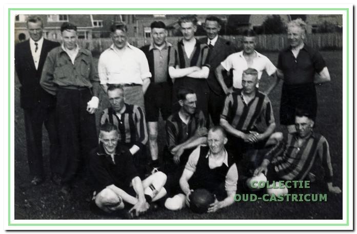 In mei 1945 speelden Vitesse en CSV gebroederlijk tegen de bevrijders.