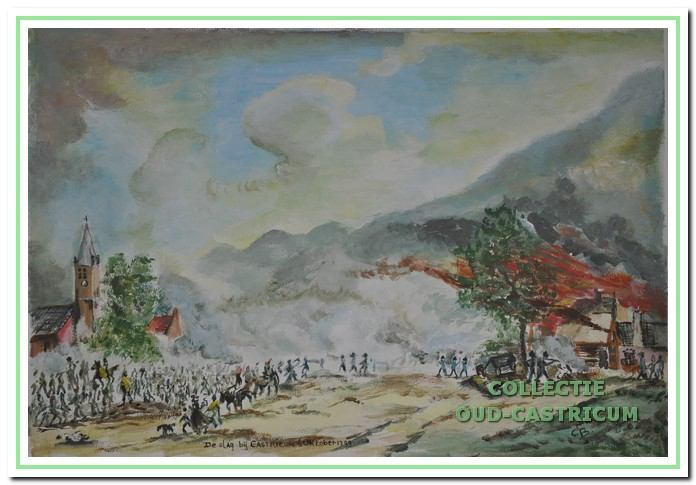 De Slag bij Castricum woedde in oktober 1799.
