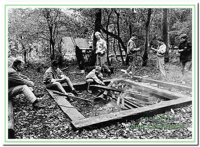 Scouting bij de St. Wilfriedgroep in de jaren negentig.