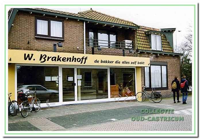 Bakker Brakenhoff aan de Burgemeester Mooijstraat.