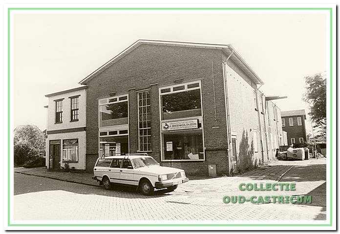 Van 1976 tot 1987 was de voormalige zuivelfabriek aan de Breedeweg het domicilie van drukkerij Boesenkool.