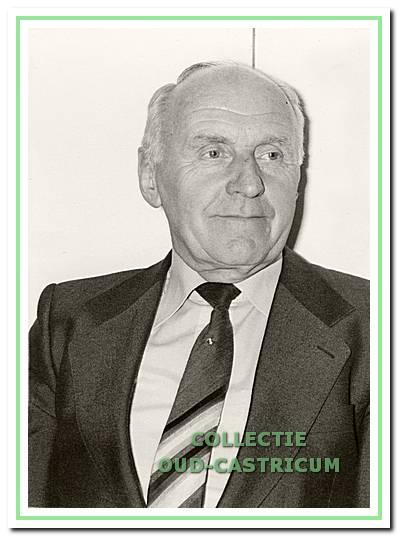 Jannes Stevens, circa 1970 (overleden in 2012).