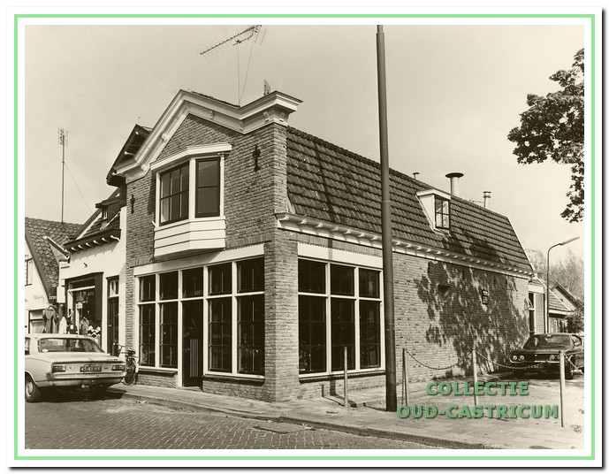 Eetcafé Castell, Dorpsstraat 87, in 1996.