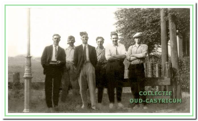 Buren en vrienden van de Breedeweg.