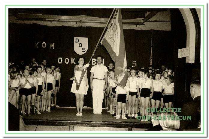 Uitvoering in Borst op 5 februari 1956.