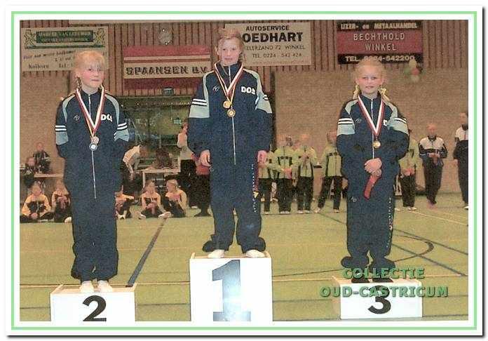 DOS was op 12 april 2003 in Winkel zeer succesvol bij de finale van de regionale competitie 'LOS'.