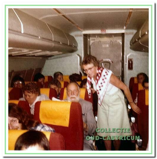 Patiënten gingen rond 1970 op vakantie naar Spanje onder de hoede van dokter Breetveld.