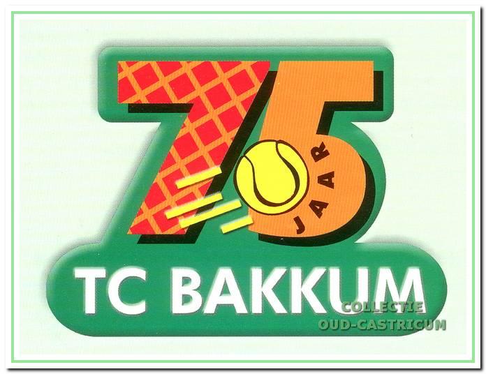 TC Bakkum 75-jarig bestaan.