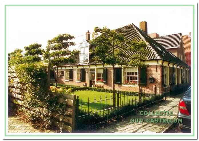 De huidige boerderij, bewoond door Hans en Els Oudejans.